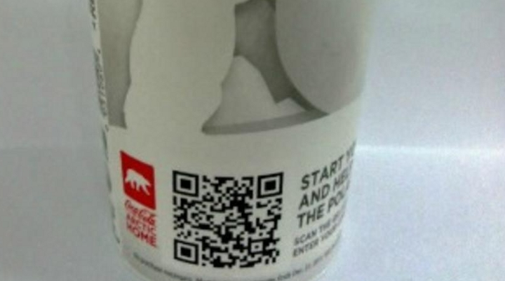 Coca Cola, QR-Code sulla lattina