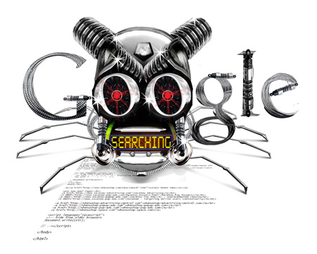 Google Bot Illustrazione