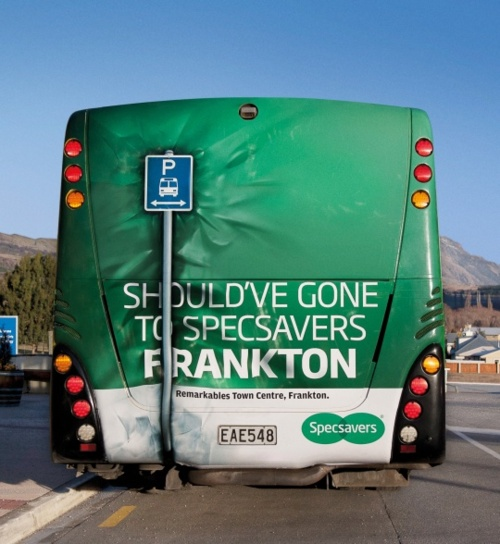 Specsavers, Guerrilla Marketing o Advertising